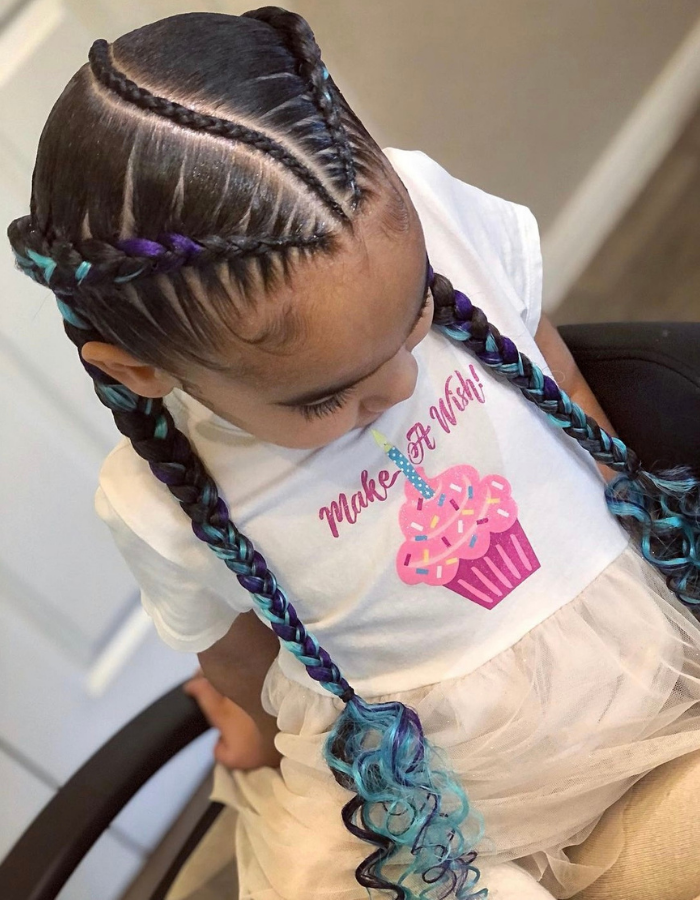 40 Easy and Adorable Braids Hairstyles For Kids On Any Occasion.