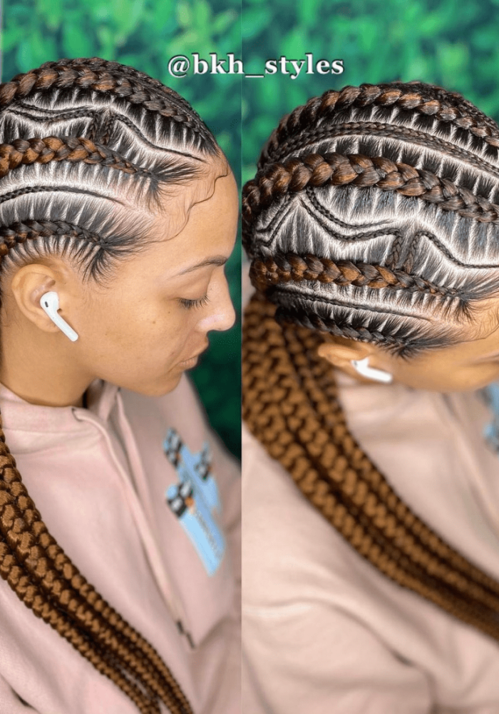 feed in braids hairstyles