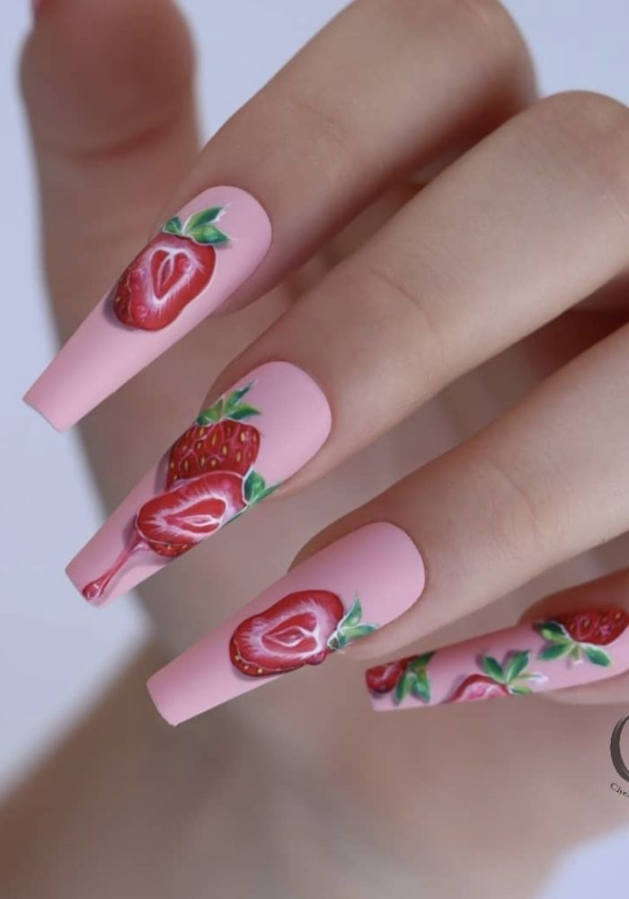 30 Trendy Coffin Nail Designs That Are Insanely Beautiful In 2021.