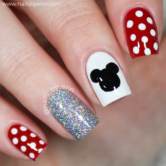 30 Insanely Beautiful Disney Nails You Need To See Now!