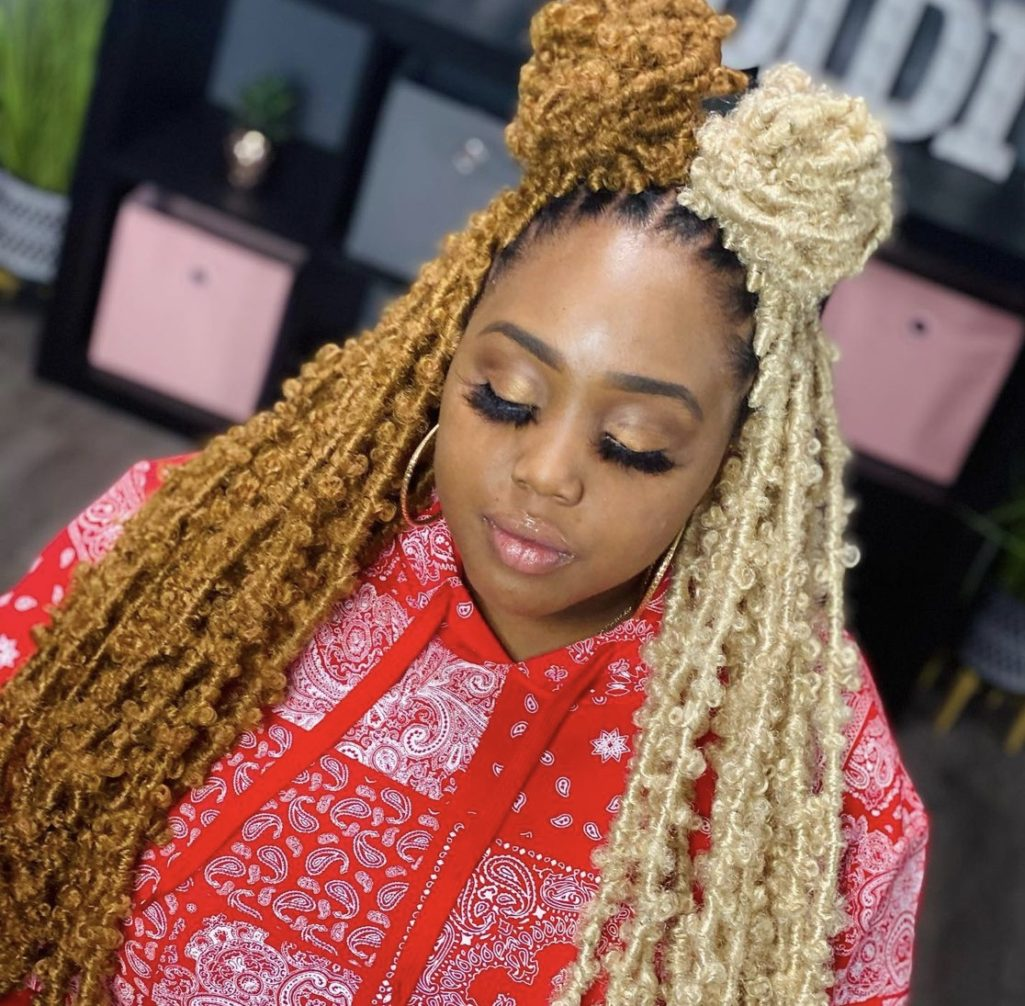 Butterfly locs hairstyles