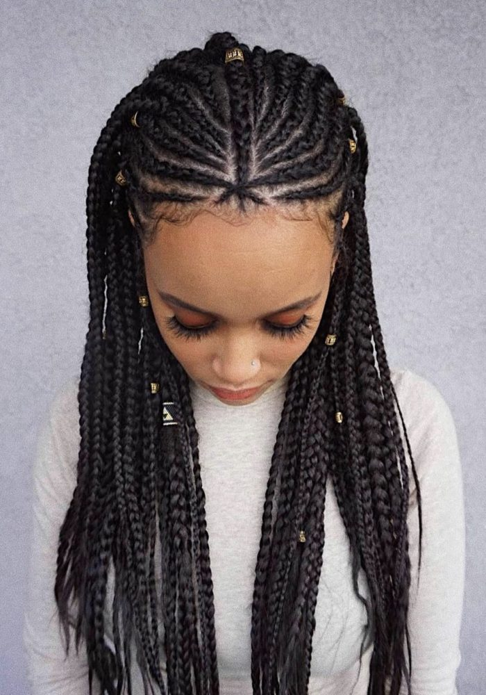20 Trendy Tribal Braids Hairstyles You Need To See Now.
